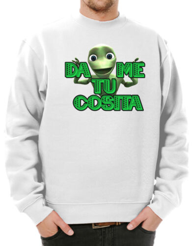 El Combo Frog Face Dame Tu Cosita Sweatshirt IntroduccionB El Cosita Remix Meme