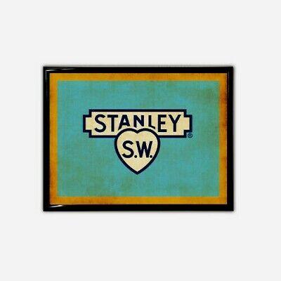 Stanley Tools Vintage Logo Print Bed Rock Stanley Plane Sweetheart Bedrock 1 2 3