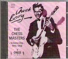 THE CHESS MASTERS Vol 1 1955-1958 Chuck Berry Rare 1991 Best of CD Rock'n'roll