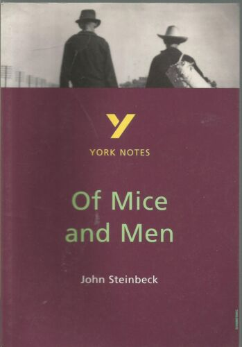 1 of 1 - York Notes on John Steinbeck's  Of Mice and Men by Martin Stephen Paperback 1997