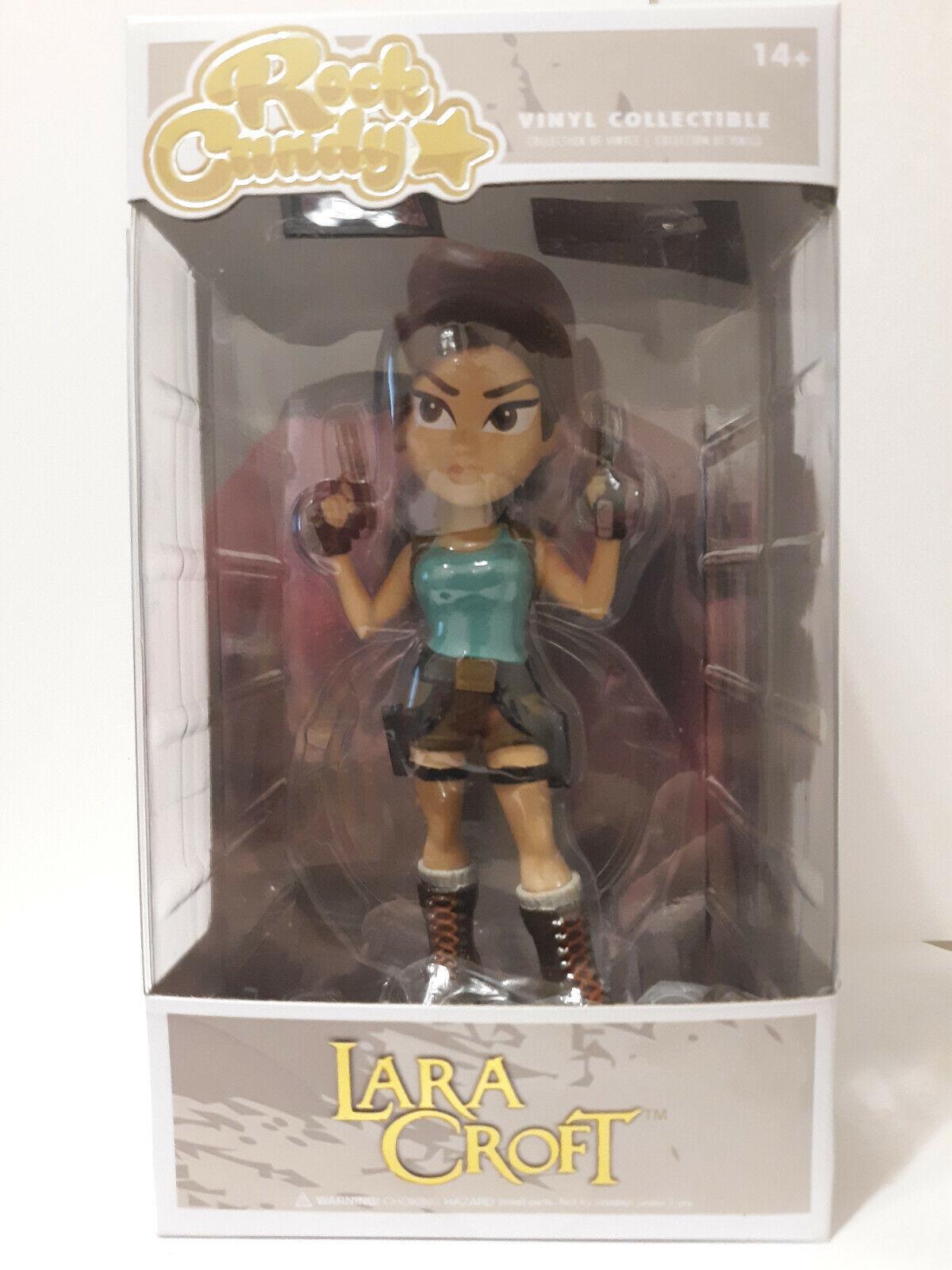 Lara Croft Tomb Raider Vinyl Figure - Funko Rock Candy - MIB - NEW