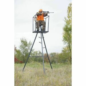 Portable 13 Ladder Hunting Stand Tripod Comfortable