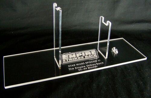 ESB /& ROTJ New Hope 1 x Acrylic STAND -Star Wars DL-44 Blaster Dennix//Bull