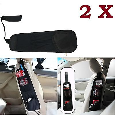 2x Car Van Multi Side Pocket Seat Storage Collector Hanging Bag Organiser Pouch Een Grote Verscheidenheid Aan Goederen