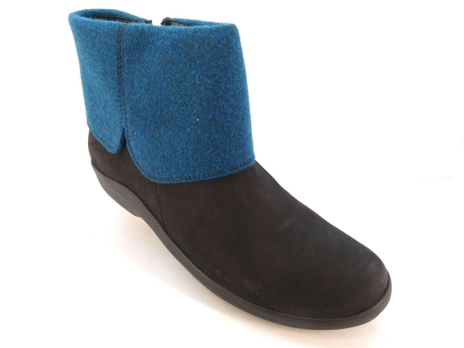 Berkemann Coralie 05202 Stiefel Stiefeletten Stiefel schwarz - blau NEU Gr.38 2 3