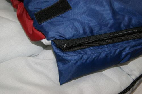 2x Mumienschlafsack Schlafsack Winter 23°C XXL 1900g Alaska Camping Zelt NEU
