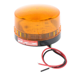 Warning Strobe Beacon Alarm Light Signal Tower Lamp Water-Proof AC220V LED