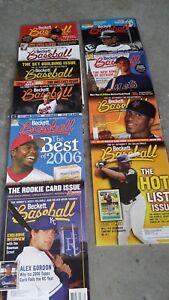 Beckett-Magazines-Lot-10-Ichiro-David-Wright-Alex-Gordon-Cal-Ripken-Upton