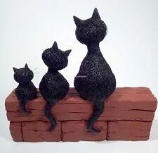 LE TRIO Skulptur Les Chats d/' Albert Dubout Katzen /'Die Drei.../' Karikatur DUB56