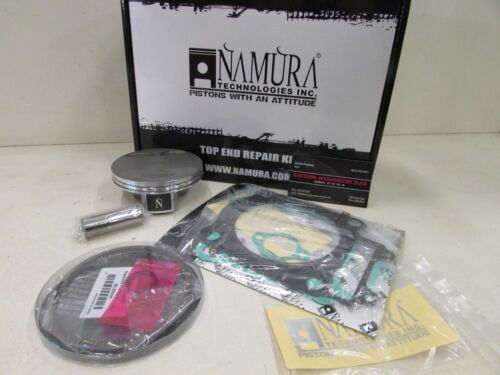 YAMAHA YFM 450 KODIAK NAMURA TOP END REBUILD PISTON KIT 2003-2006 STD BORE