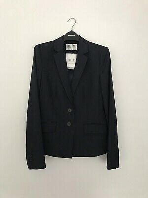 Austin Reed Navy Puppy Tooth Jack Skirt Suit Rrp 388 Ebay