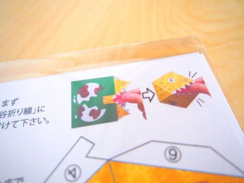 The Amazing Pop-Up Penguin Bomb papercraft  Origami Dinosaur version