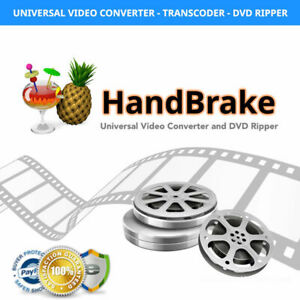 Handbrake video converter free