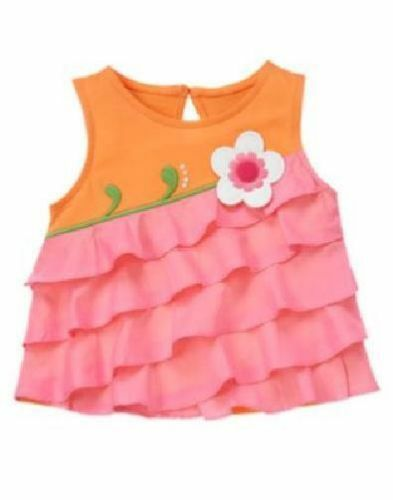 NWT GYMBOREE Summer Tank Top 3-6-12-18-24 mos 2T 3T 4T 5T Choose Color/Pattern