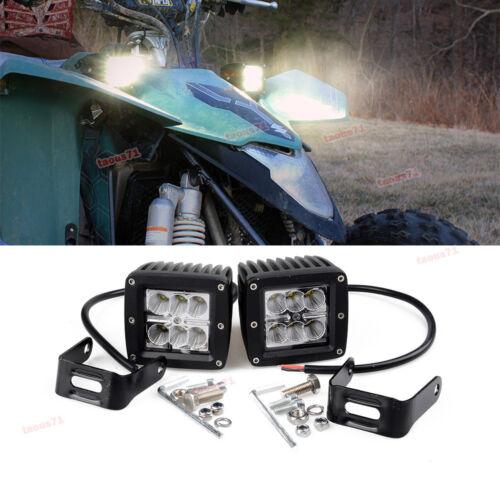 "Polaris Ranger 3/"" CREE LED Work Light Bar Spot offroad Lamp ATV RZR Sportsman"