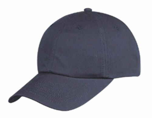 100/% Cotton 6 Panel Low Crown Unstructured Baseball Hats Caps
