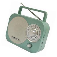 Portable Am/fm Radio In Teal