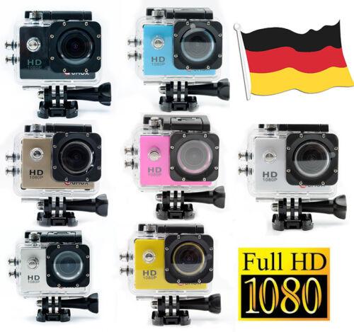 QUMOX SJ4000 Action Sport Kamera Cam Wasserdicht FHD 1080p SJCAM Helmkamera