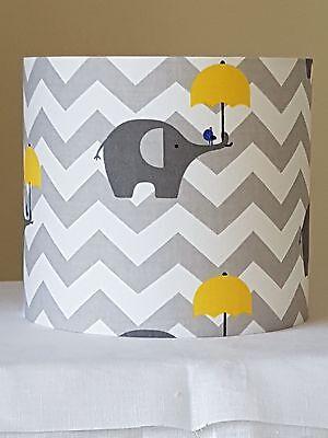 Elephant Lampshade Umbrella Zig Zag