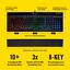 Corsair-K55-RGB-Three-Zone-Multi-Color-6-Macro-Keys-Gaming-Keyboard-Black thumbnail 1