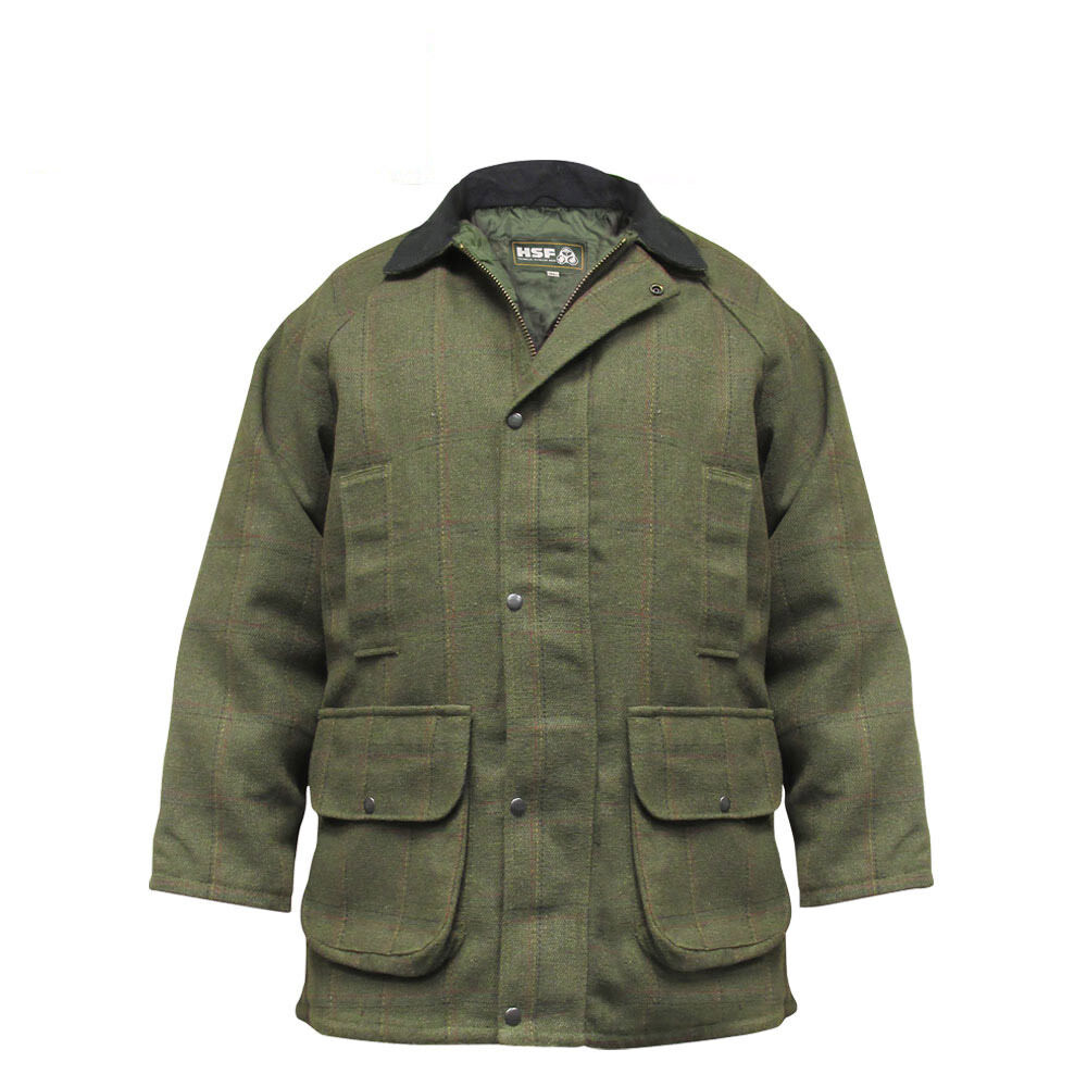 Chaqueta de disparo HSF Hereford Tweed S-2XL   deportivos juego de disparo