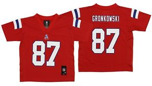 Details about OuterStuff NFL Kids New England Patriots Rob Gronkowski  87  Jersey 274859939