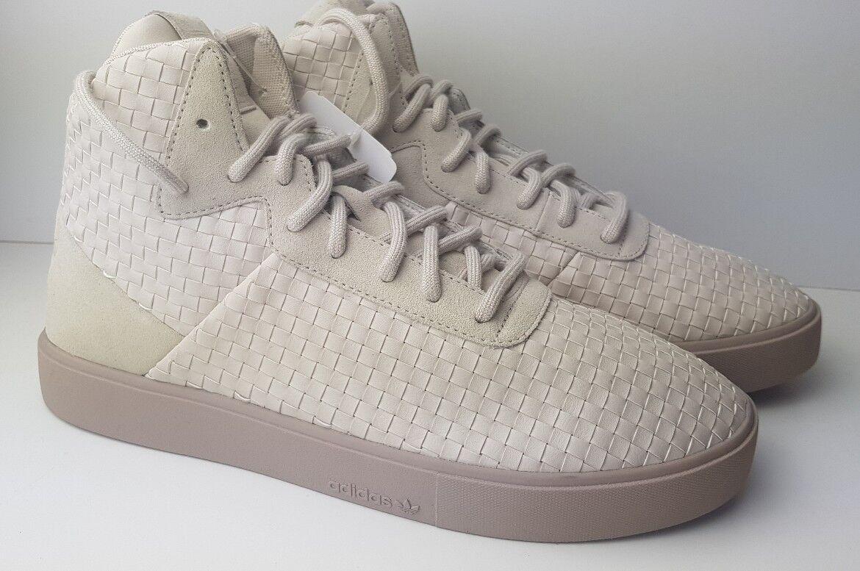 Adidas Originales espléndido Tejido Lux Crema Beige Zapatillas para hombre Talla 8.5 UK