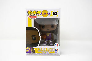 973a6d03ed8d Funko Pop NBA Lebron James Vinyl Figure 53 La Lakers Purple Jersey ...