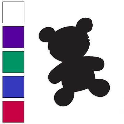 ebn2350 Multiple Colors /& Sizes Teddy Bear Cute Toy Vinyl Decal Sticker