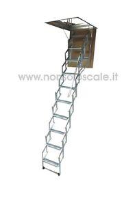 Scala-retrattile-soffitta-botola-SR-70-X-50-X-260-275