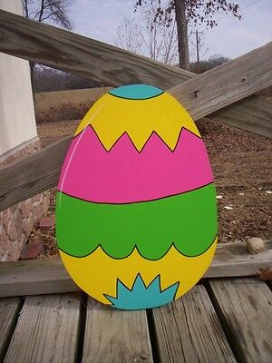 Easter Egg Eggs Yard Art Decoration -- 21 Designs to Choose From