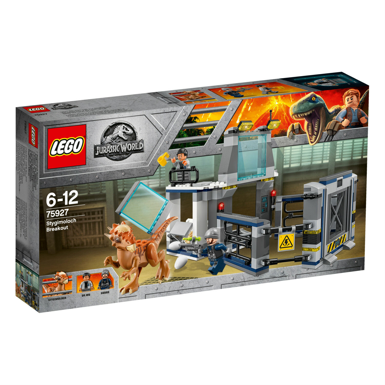 LEGO Jurassic World 75927 Ausbruch des Stygimoloch Breakout L'évasion N6 18