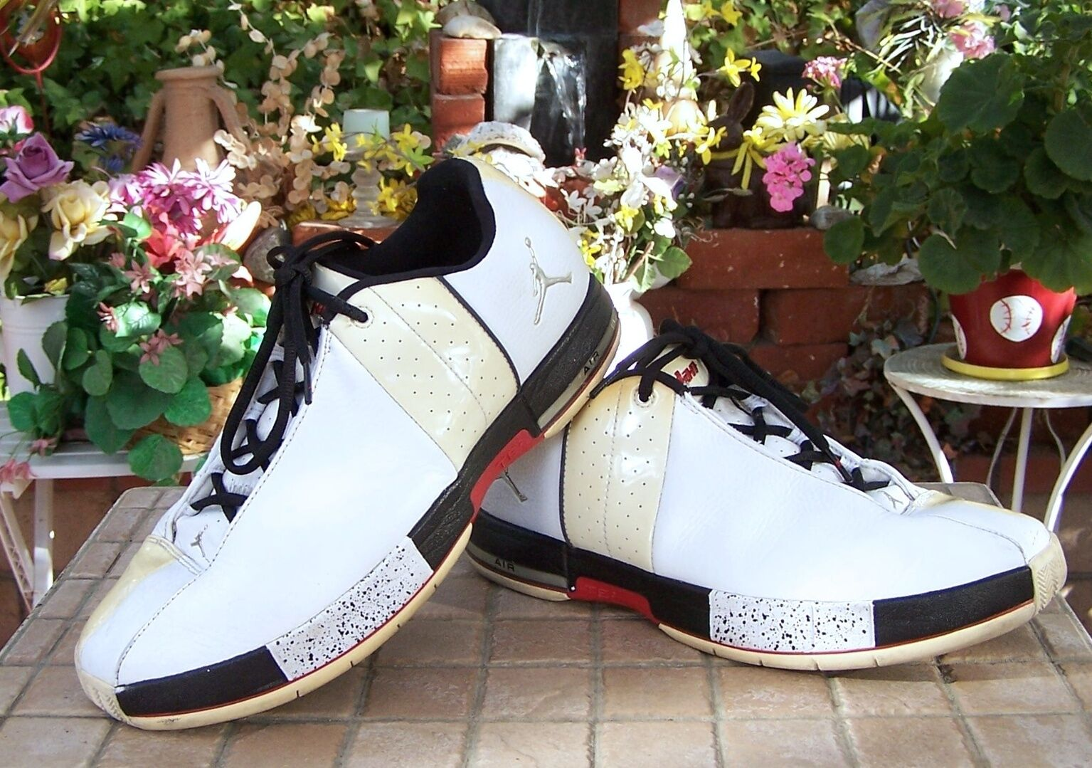 Nike Air Jordan Team Elite II Low White 2018 RARE Men's US Comfortable Seasonal price cuts, discount benefits