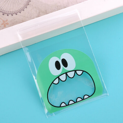 Cookie Candy Bag Self-Adhesive Plastic Bags Biscuits Package Cartoon
