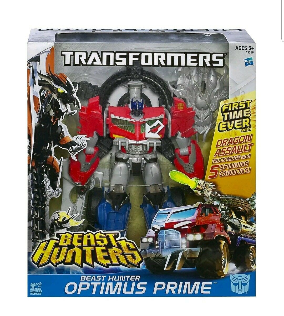 Transformers Beast Hunters DRAGON ASSAULT OPTIMUS PRIME NEW SEALED RARE