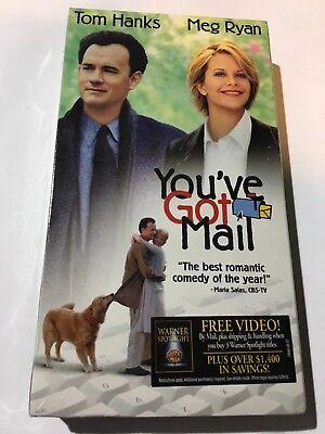 Factory Sealed You Ve Got Mail Vhs 1998 Tom Hanks And Meg Ryan Ebay