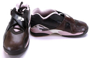 reputable site 6b7e0 cd866 Details about Nike Shoes Air Jordan 8 Retro Lo Cinder Chocolate Brown/Pink  Sneakers Womens 7.5