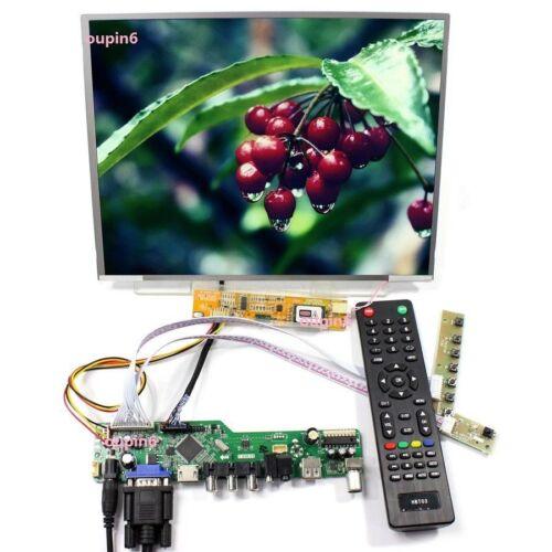 "TV56 HDMI VGA DVI LCD Controller kit +12.1"" LTN121X1 1024*768 Panel Screen"