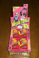 Two 1981-82 Topps Basketball Unopened Wax Packs