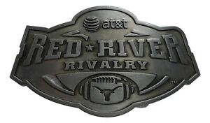 Texas Longhorns vs Oklahoma Sooners AT&T Red River Rivalry ...