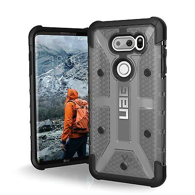 UAG LG V30 Plasma Feather-Light Rugged [ASH] Military Drop Tested Phone Case