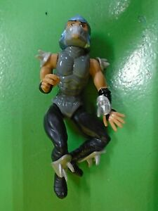 TMNT-Toon-Shredder-Figure-Teenage-Mutant-Ninja-Turtles-1992-Grey-Good-Condition
