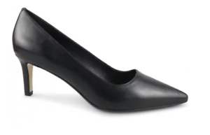 WITTNER Delores Black Leather Pointed