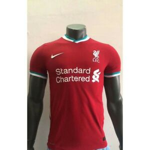 liverpool home jersey jersey soccer 2020 21 football men shirt xl size ebay ebay