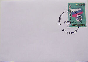 Stadspost-Europost-2013-FDC-WK-2014-Voetbal-Football-Rusland
