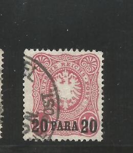 Off. in Turkey Mi. # 2 b, Used, F / VF. Steuer BPP. CV € 100.00