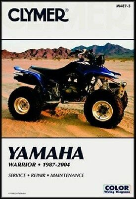 CLYMER SERVICE REPAIR MANUAL M487-5 YAMAHA 350 WARRIOR 1987 1988 89 90 1991 1992