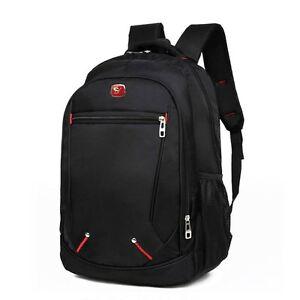 Men-039-s-Travel-Satchel-Laptop-Bag-Waterproof-Backpack-Outdoor-Rucksack-School-Bag