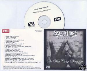 SNOOP-DOGG-The-West-Coast-Blueprint-2010-UK-promo-CD
