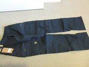 Mens-New-Fjallraven-Karl-Trousers-Regular-Size-EUR-46-30-31-Color-Dark-Navy